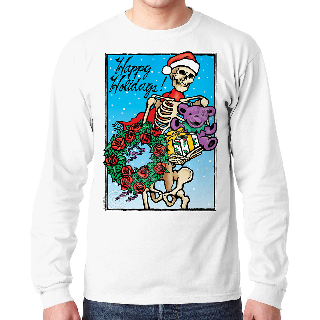 Bertha Claus White Long Sleeve T-Shirt