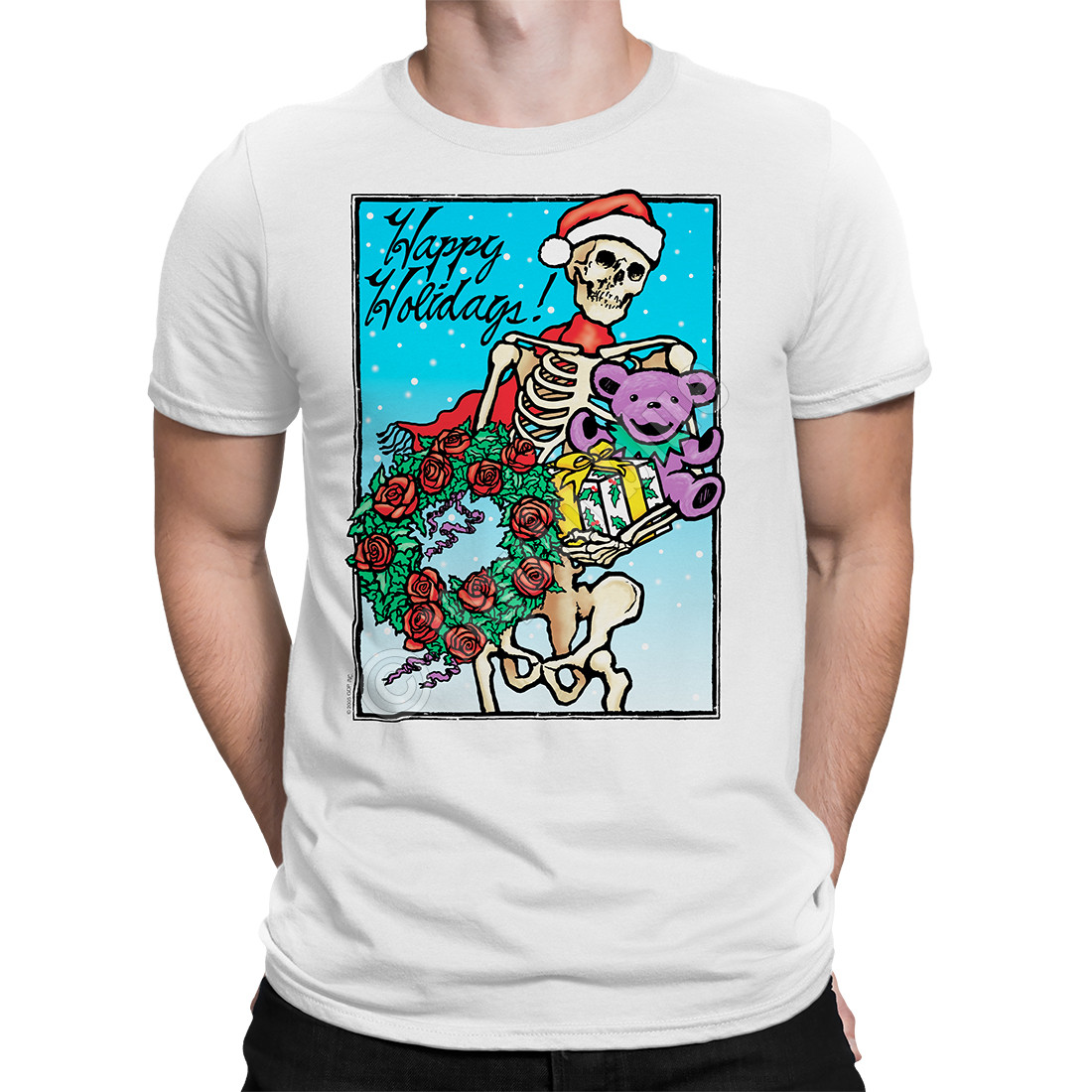 Bertha Claus White T-Shirt