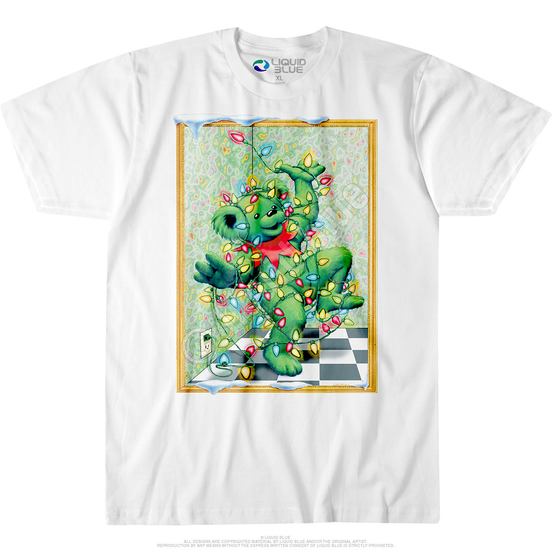 Tangled Bear White T-Shirt