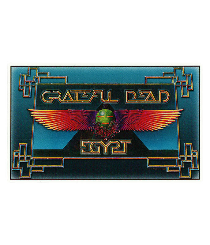 Grateful Dead GD Egypt Dead Sticker