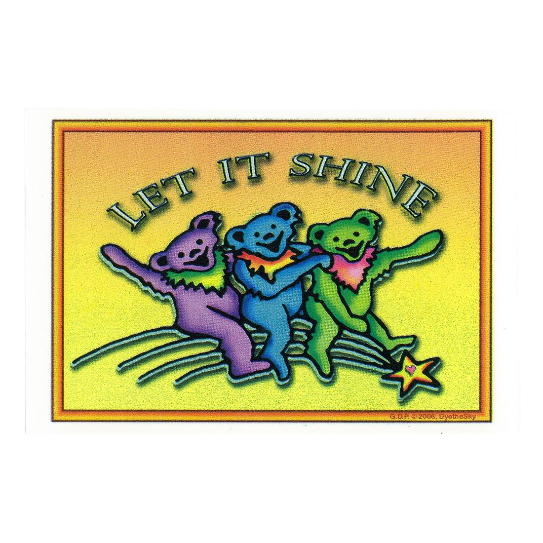 GD Let it Shine Sticker