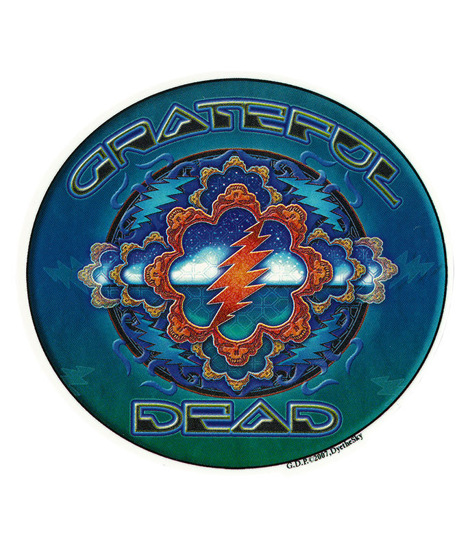 Grateful Dead GD Space Window Sticker