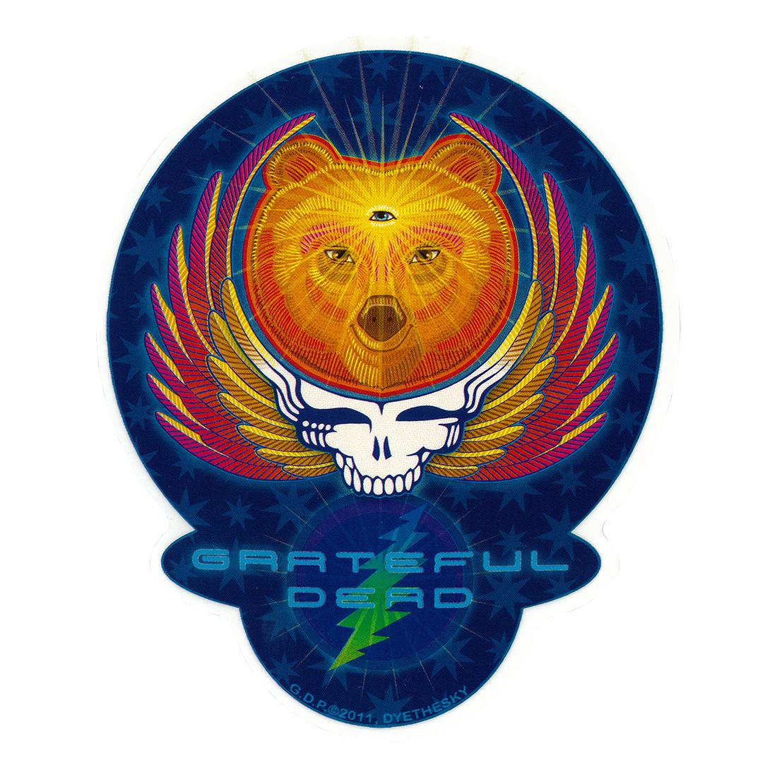 GD Bear Wings Sticker