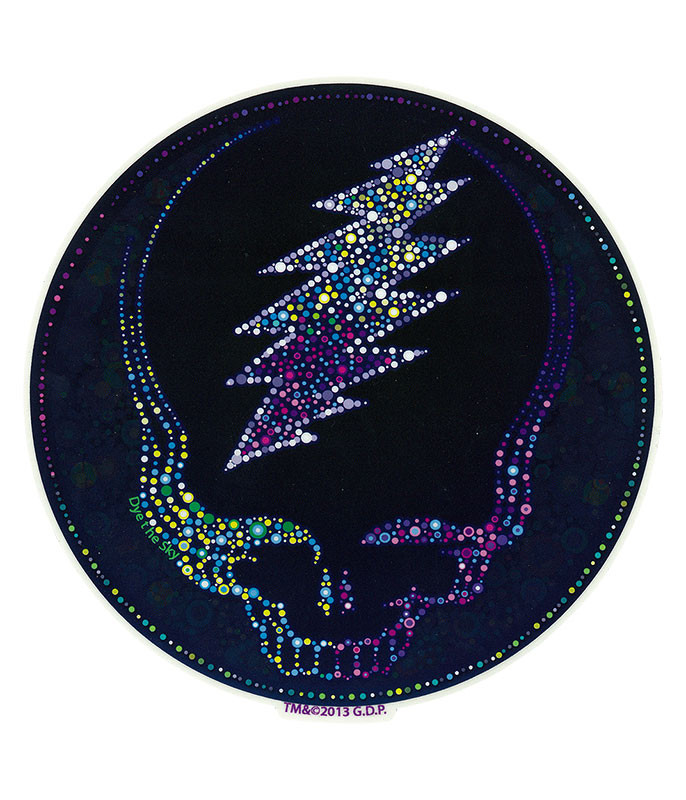 Grateful Dead GD Sparkling SYF Sticker