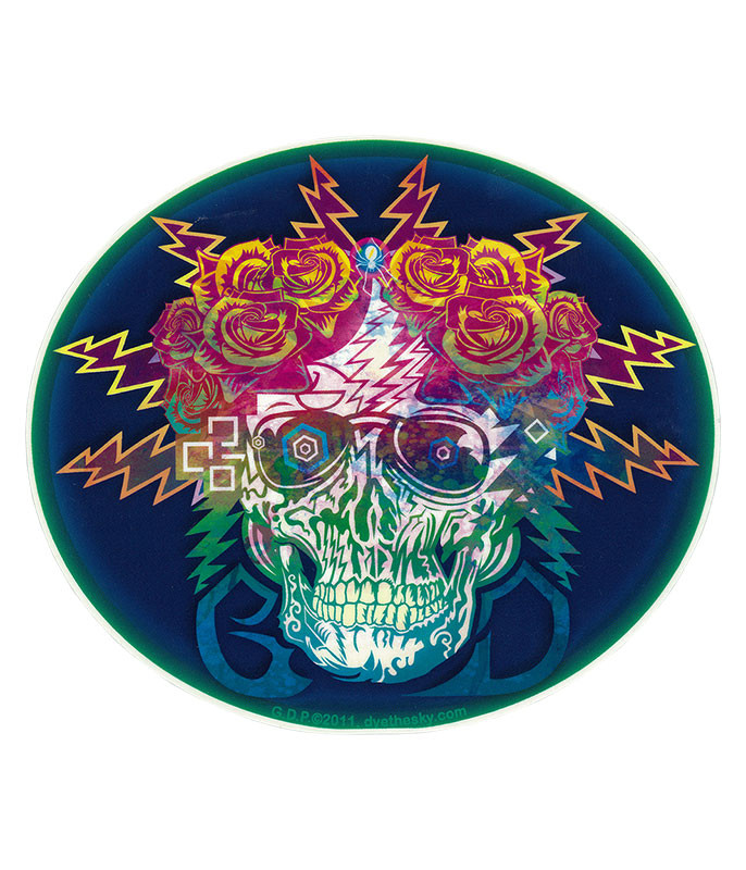 Grateful Dead GD Electric Dimensions Sticker