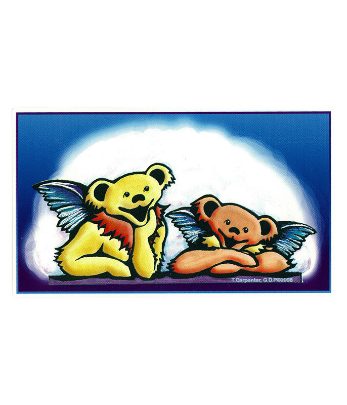 Grateful Dead GD Bear Angels Sticker