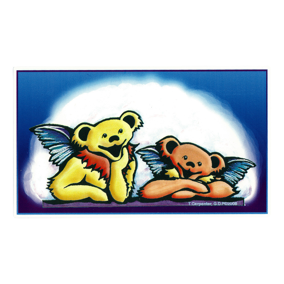 GD Bear Angels Sticker