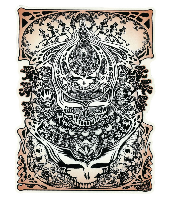 Grateful Dead GD Aiko Aiko Sticker