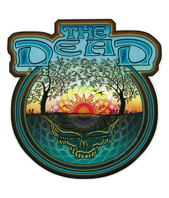 Grateful Dead GD Summer Tour '04 Sticker