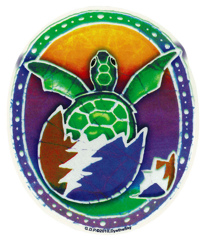 Grateful Dead GD Steal Your Turtle Sticker