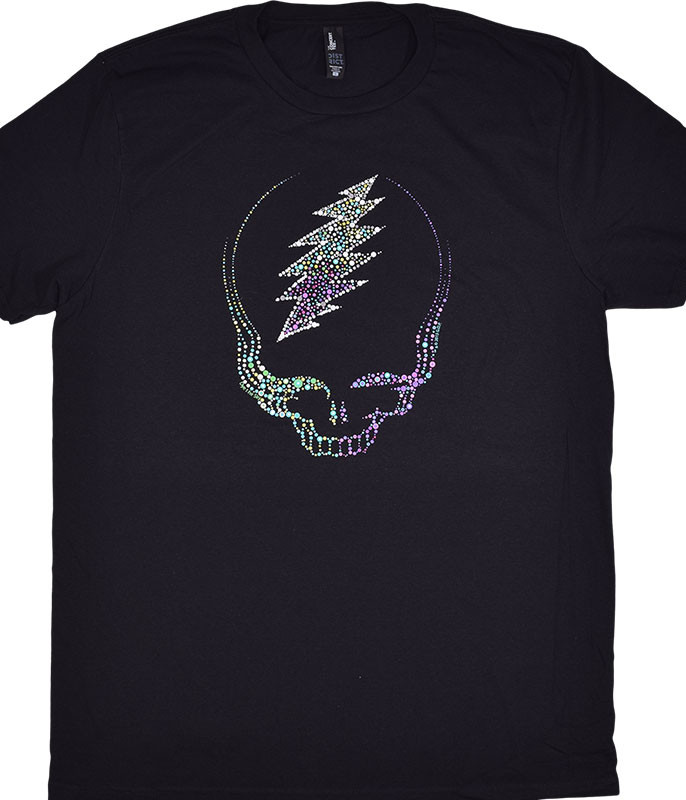Grateful Dead GD Sparkling SYF Black T-Shirt Tee