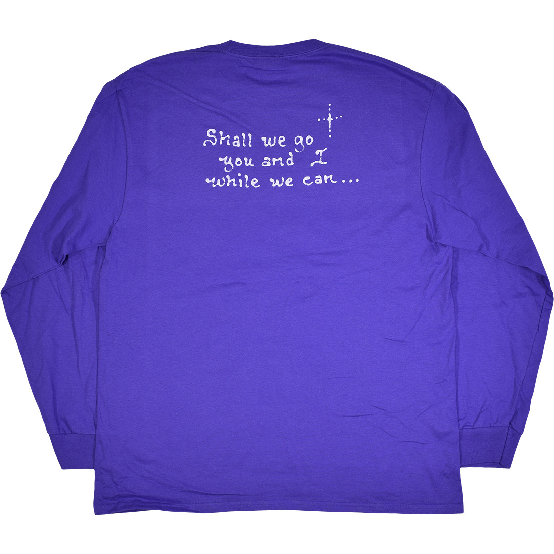 Jerry Moon Purple Long Sleeve T-Shirt