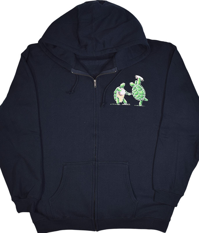 GD TERRAPIN STATION NAVY ZIPPER HOODIE