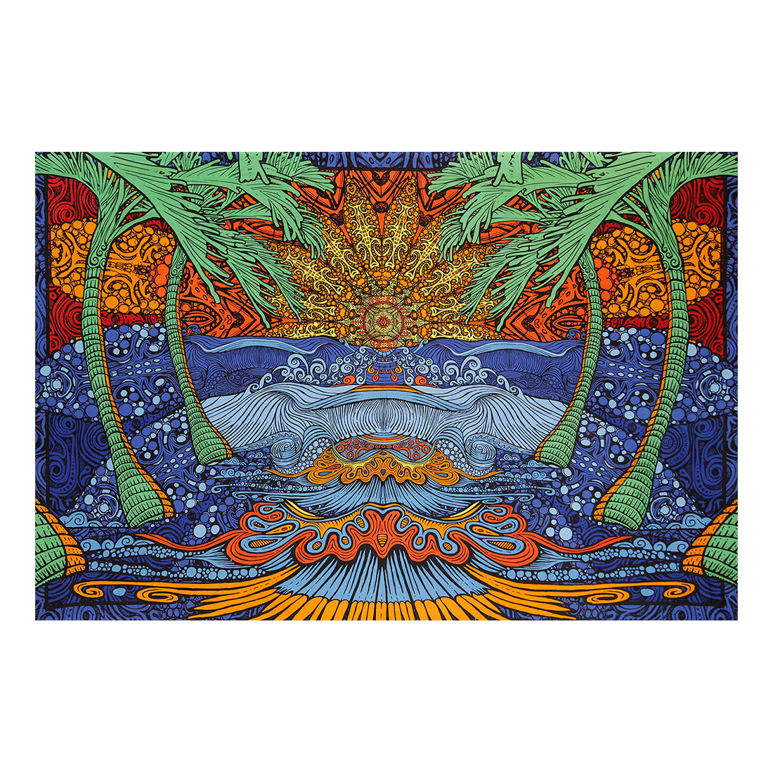 Epic Surf 3D Tapestry
