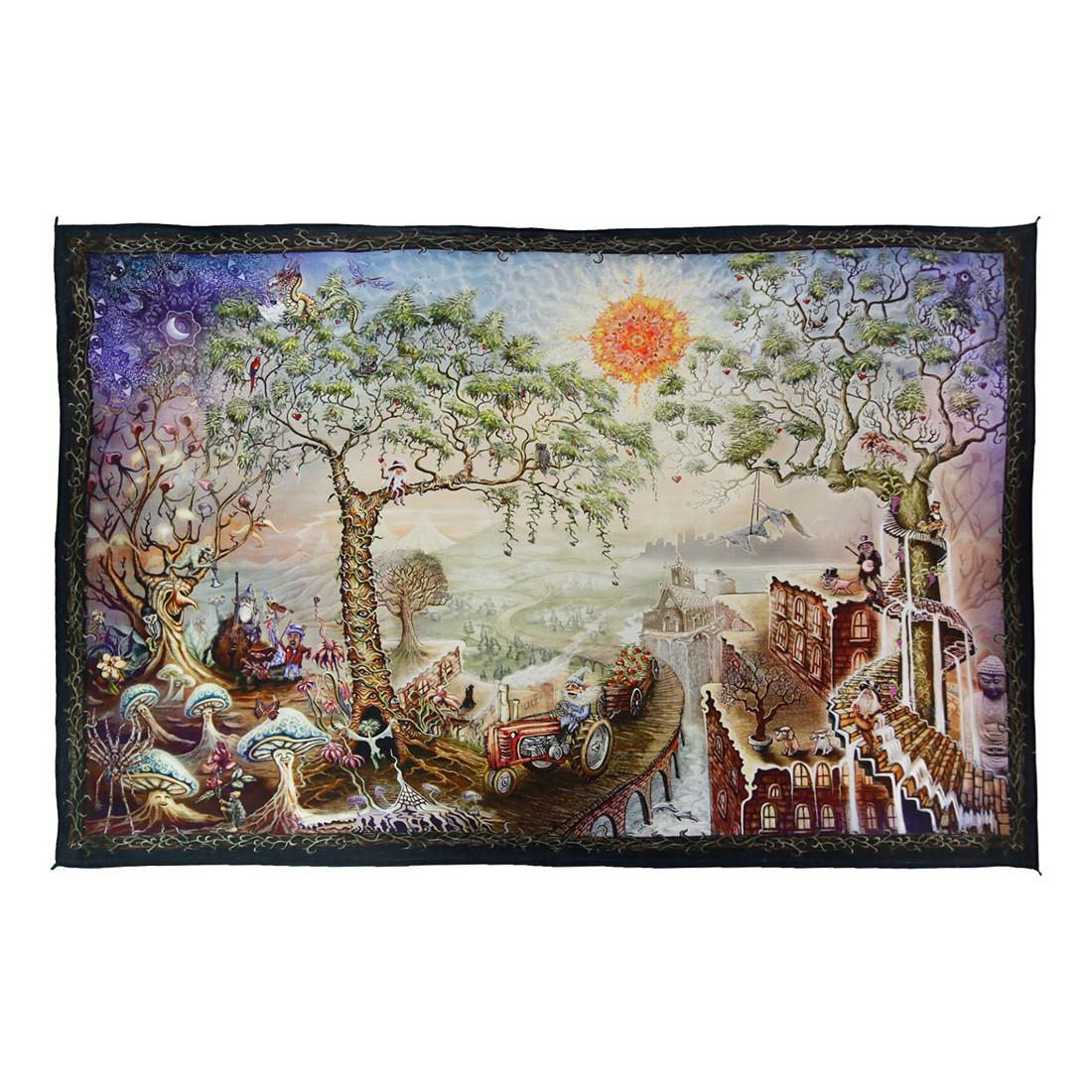 Sunshine Daydream Digital Art Print Tapestry