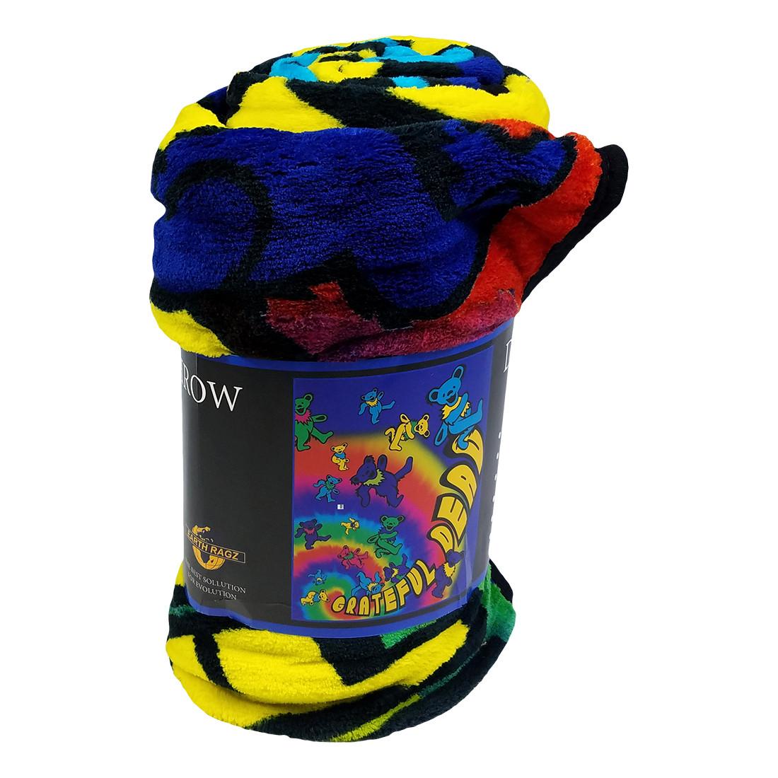 GD Bear Spiral Fleece Blanket