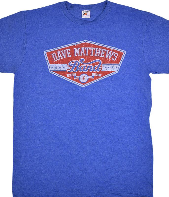 Dave Matthews Band East Side Blue Heather T-Shirt Tee