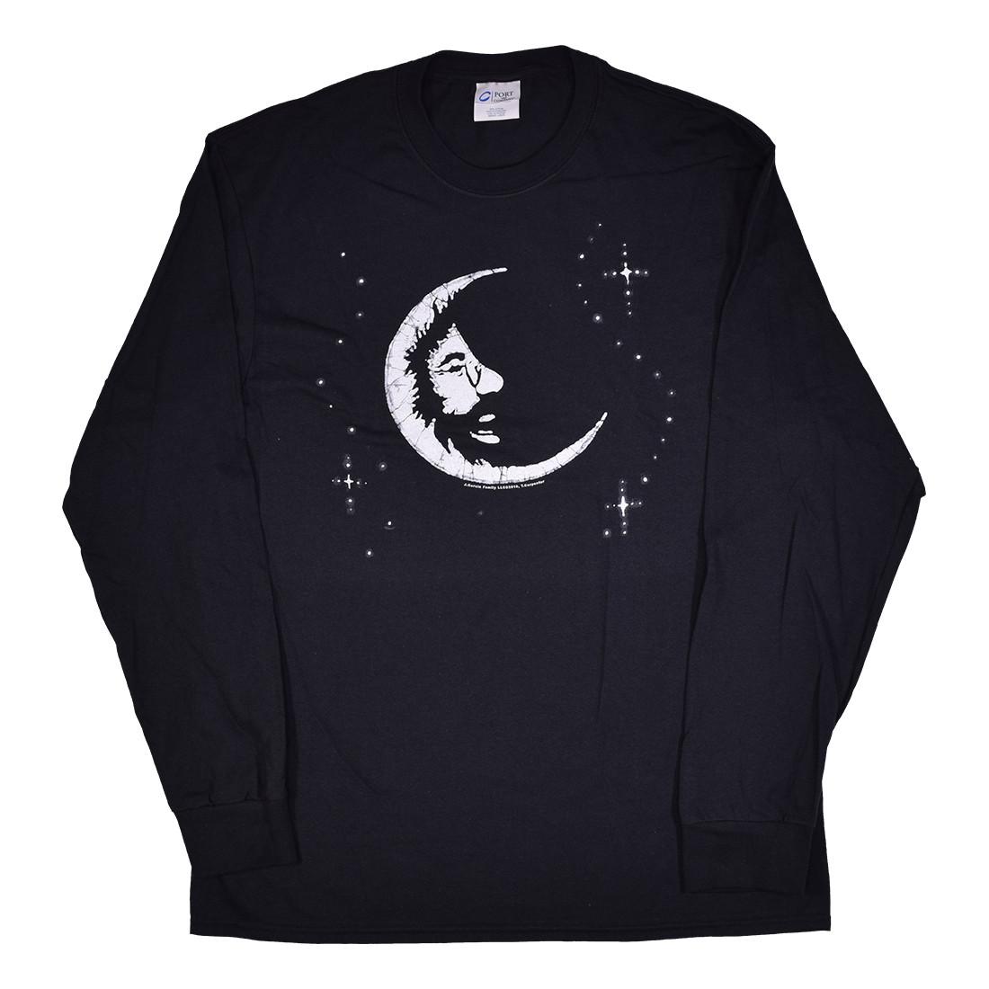 Jerry Moon Black Long Sleeve T-Shirt