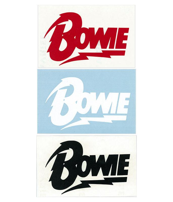 Bowie Rub On Assorted Sticker