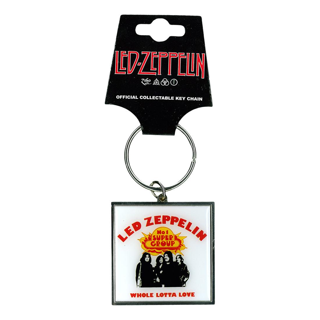 Led Zep Whole Lotta Love Keychain