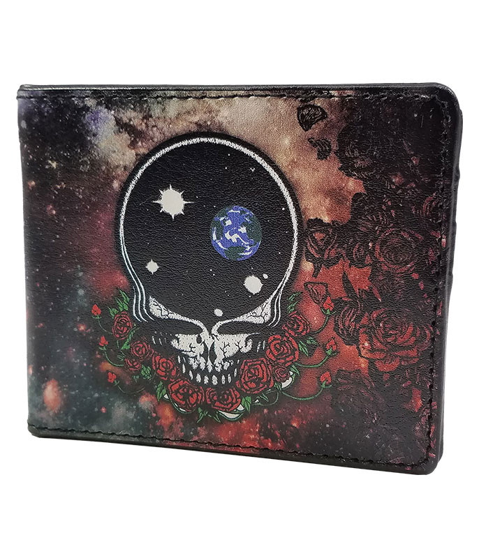 Grateful Dead GD Space Your Face Bi-Fold Wallet