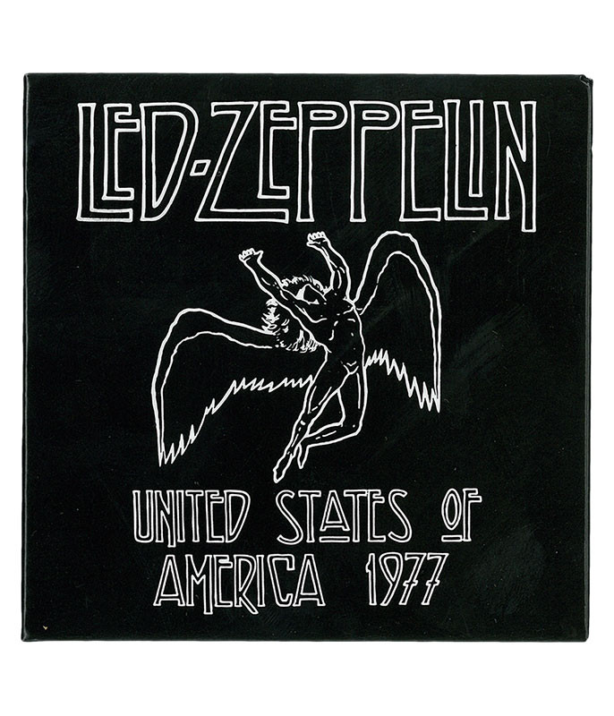 Led Zep USA 1977 Magnet