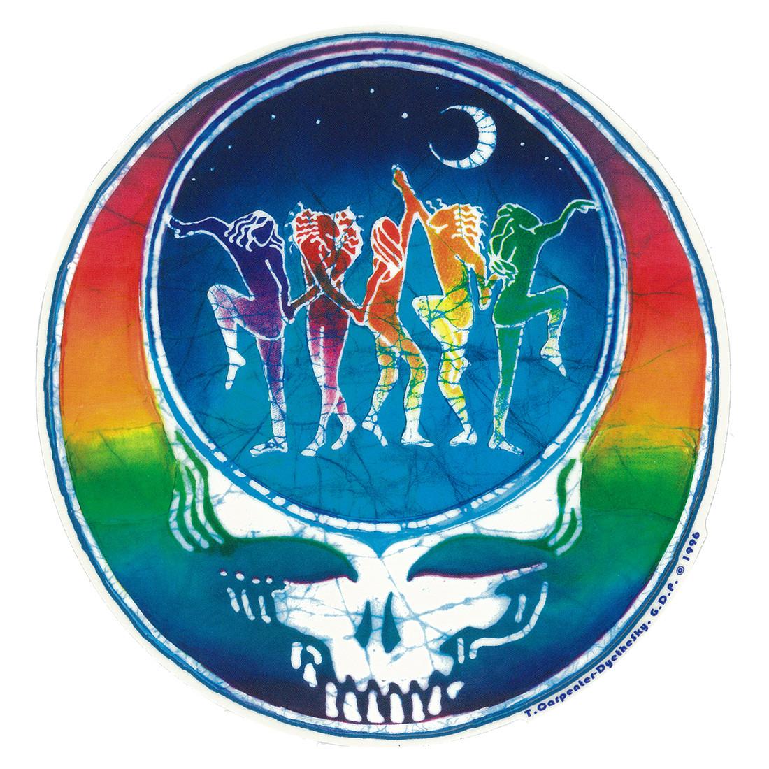 GD Dancing Face Sticker
