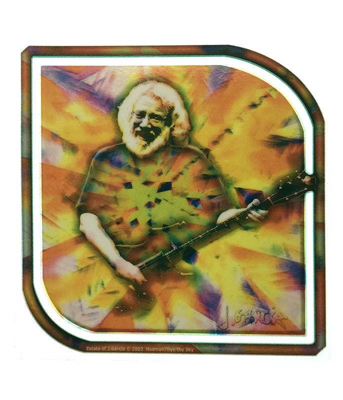 Jerry Garcia Facets Window Sticker