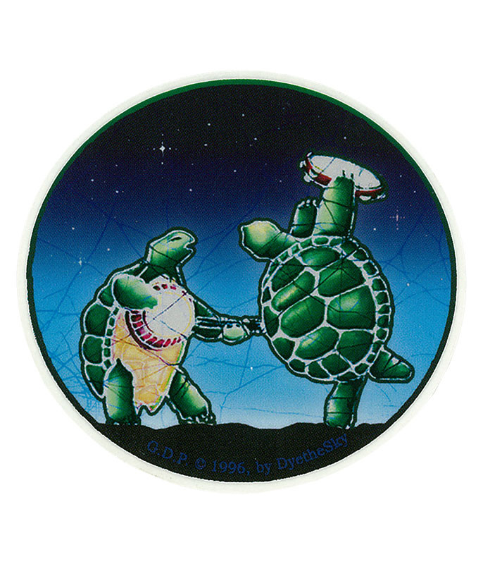 Grateful Dead GD Terrapin Station Mini Sticker