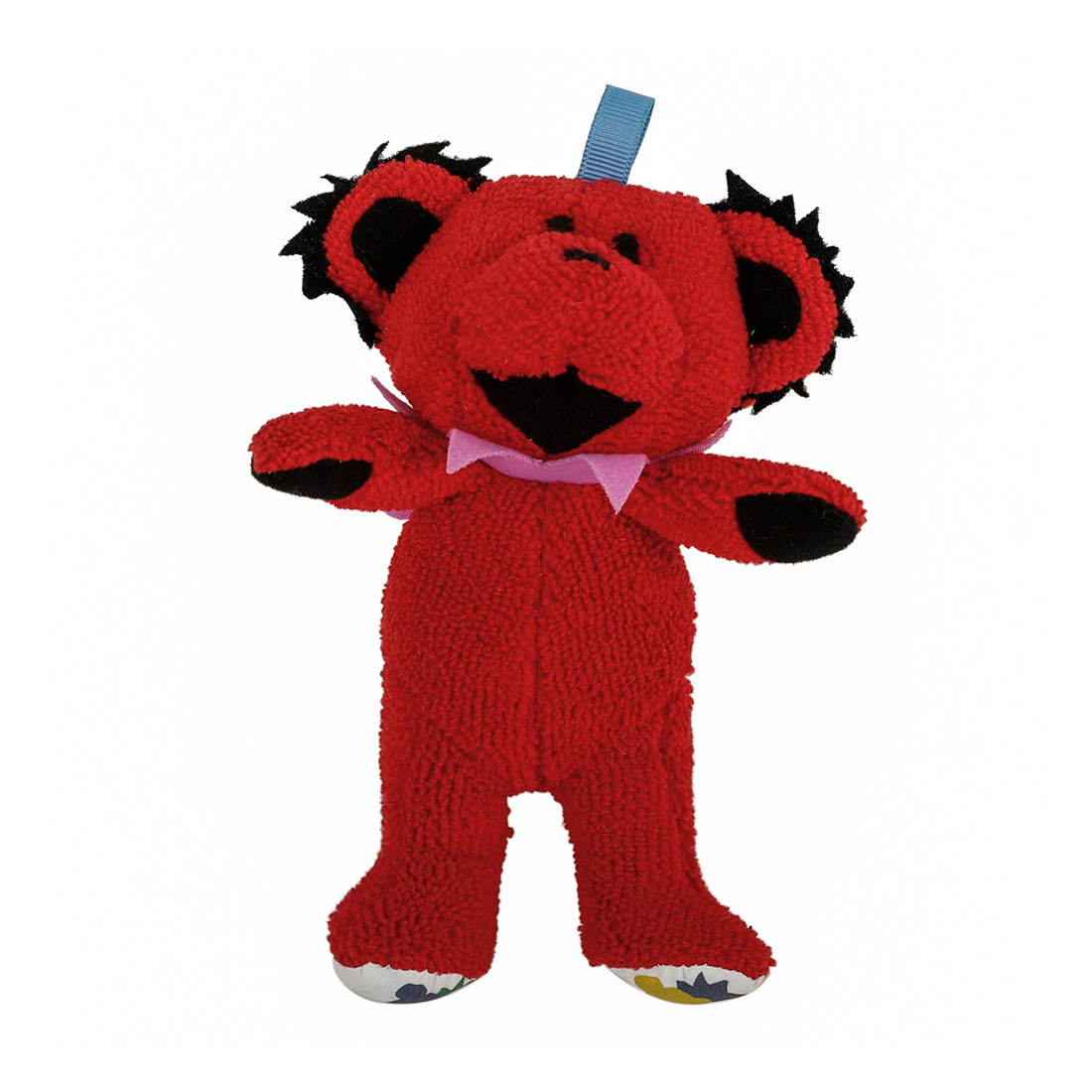 GD Red Dancing Bear Baby Rattle