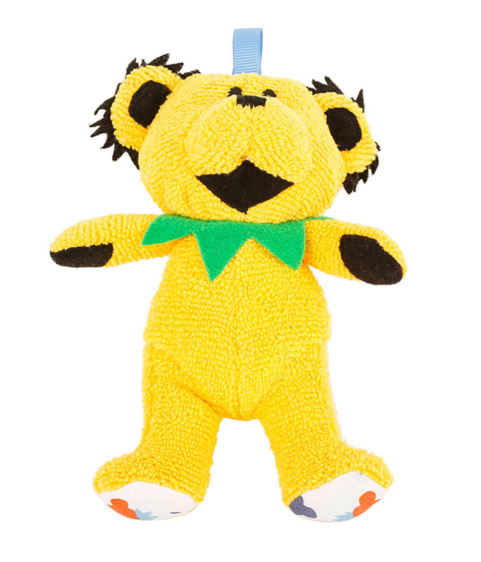 GD YELLOW DANCING BEAR BABY RATTLE