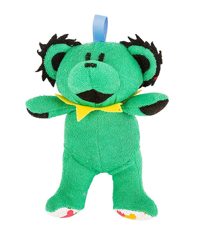 GD GREEN DANCING BEAR BABY RATTLE
