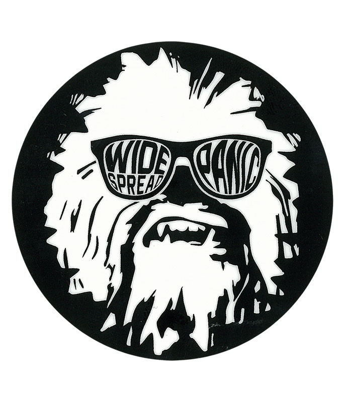 Widespread Panic Wukee Glasses Black Sticker