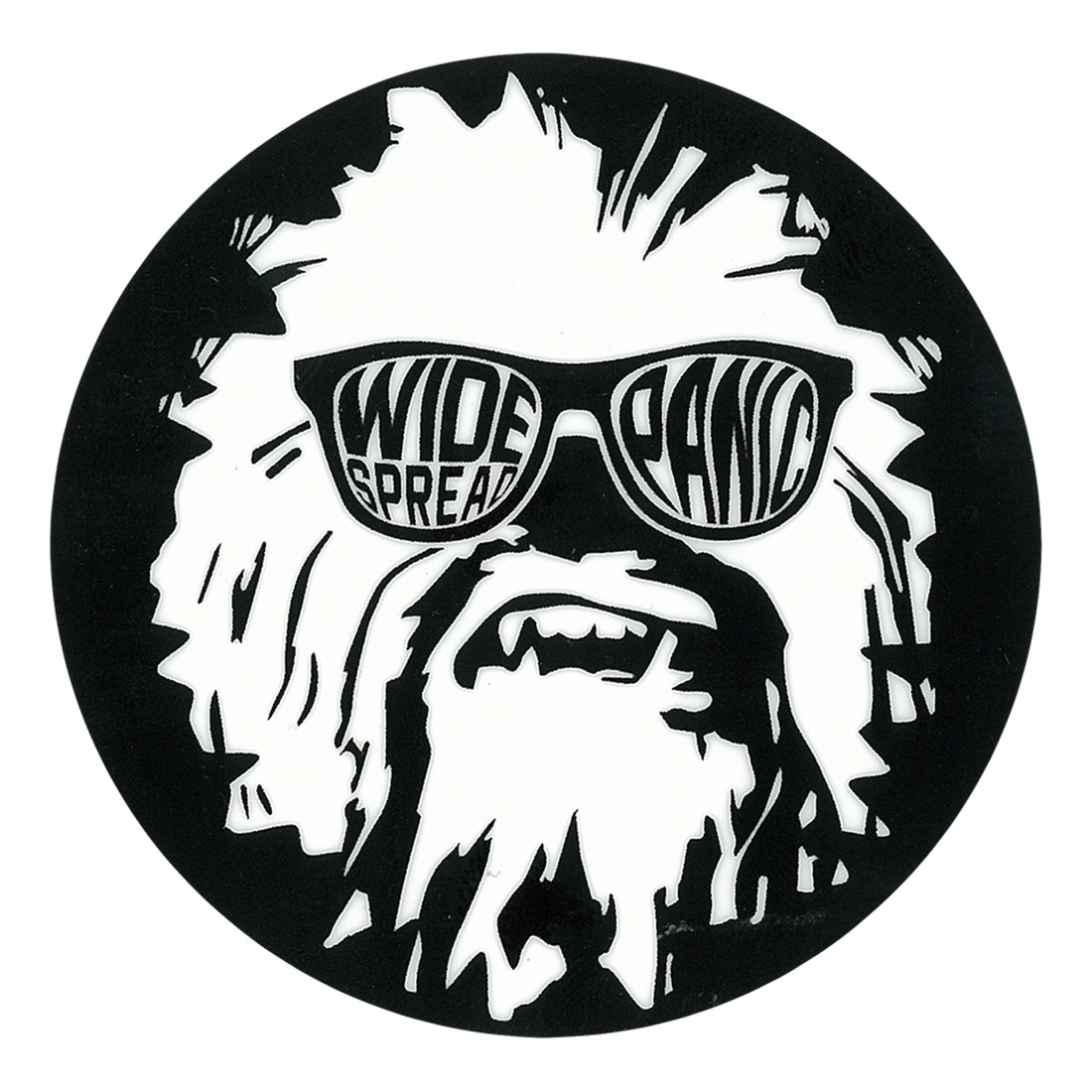 Widespread Panic Wukee Glasses Black Sticker