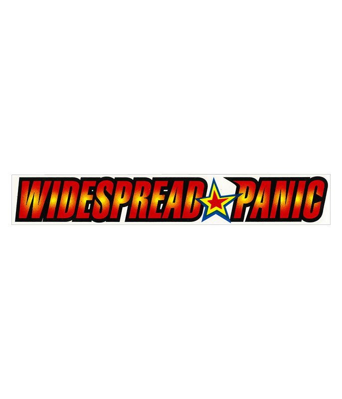 WIDESPREAD PANIC LIGHT FUSE STICKER