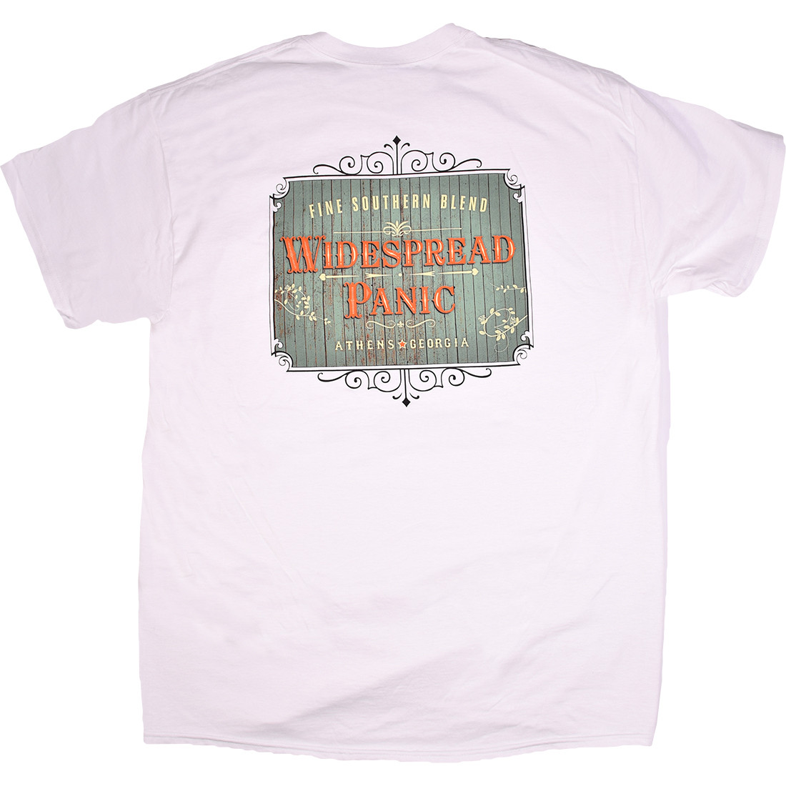 Widespread Panic Southern Blend White T-Shirt