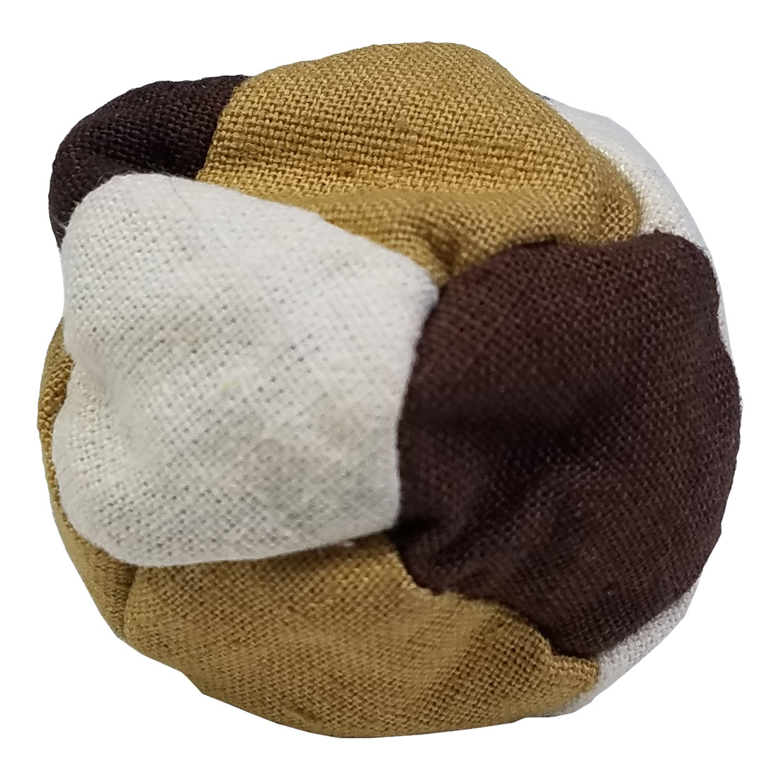 12 Panel Hemp Patchwork Hacky Sack Assorted