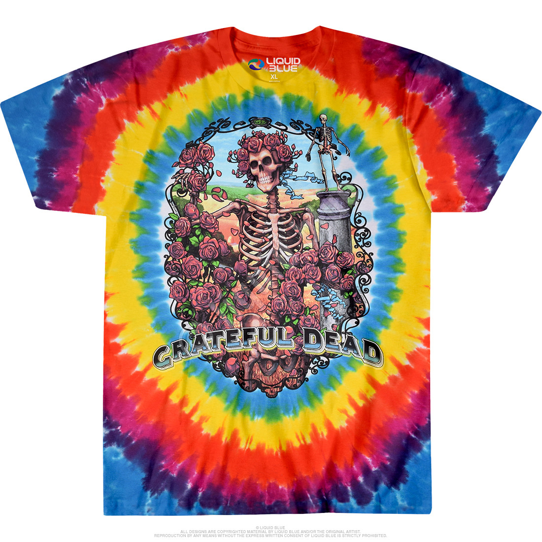 Rainbow Bertha Tie-Dye T-Shirt