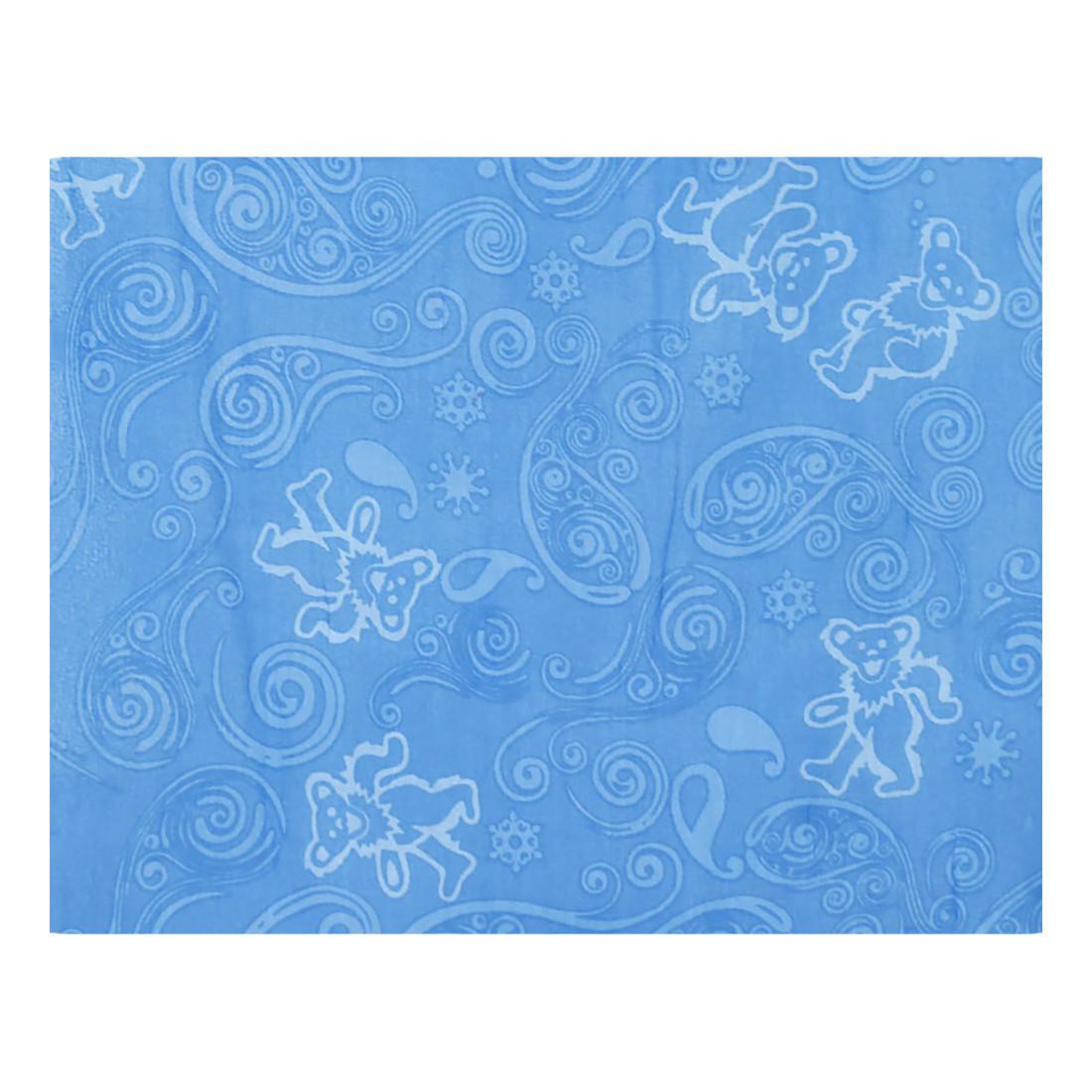 GD Long Bear Blue Scarf