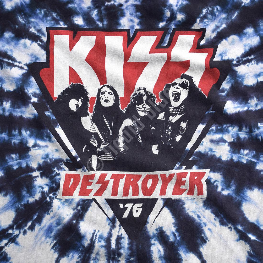 KISS Destroyer '76 Tie-Dye T-Shirt