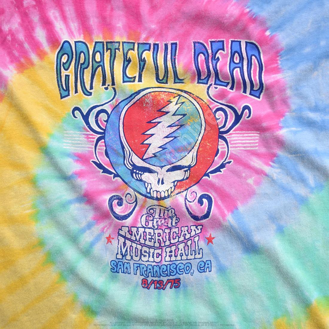 American Music Hall Spiral Tie-Dye T-Shirt