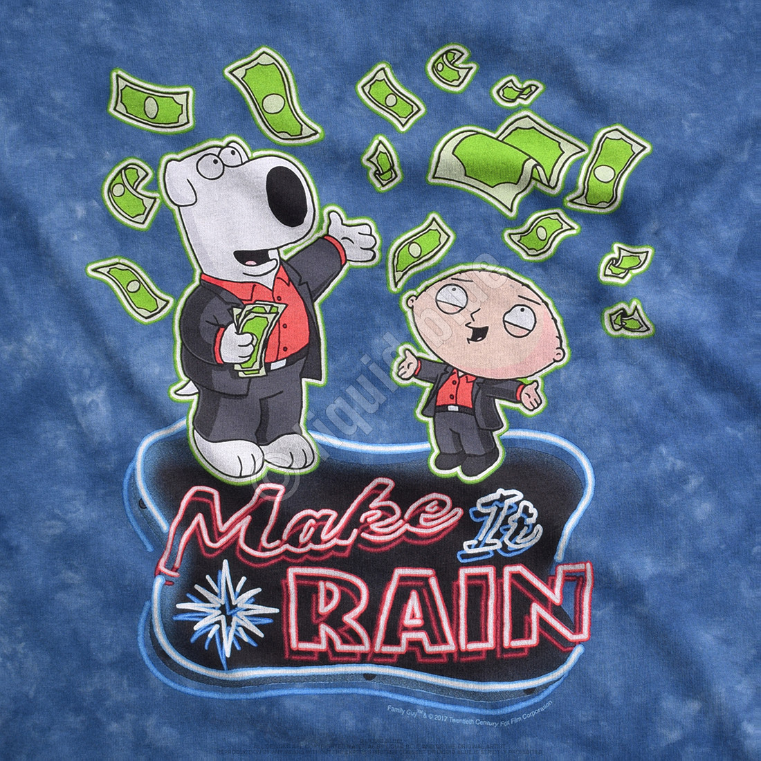 Make It Rain Tie-Dye T-Shirt