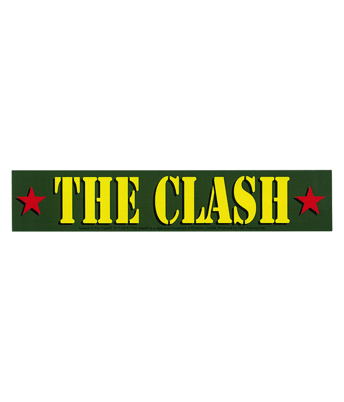 The Clash Army Logo Sticker