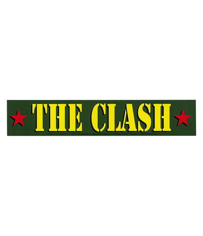 The Clash Army Logo Sticker