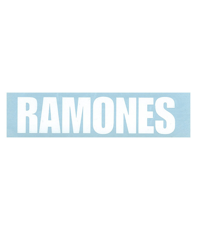 Ramones Rub On Sticker