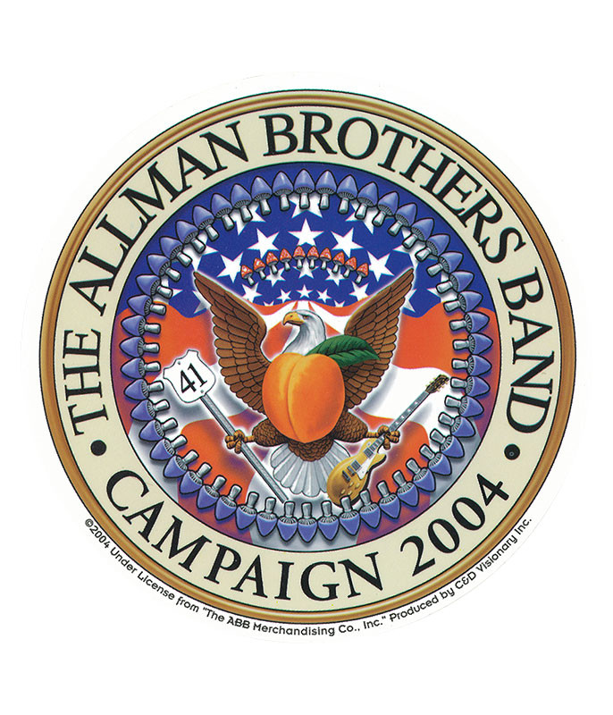 Allman Brothers Seal Sticker