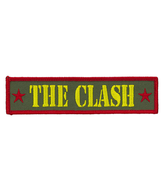 The Clash Army Logo Patch