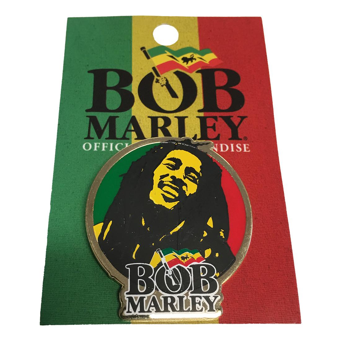 Marley Circular Enamel Pin