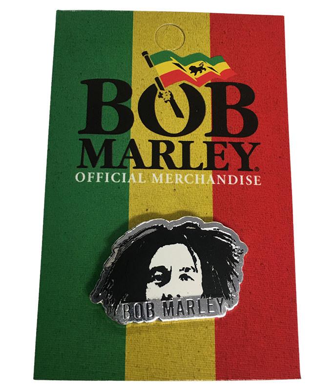 Bob Marley Face Enamel Pin