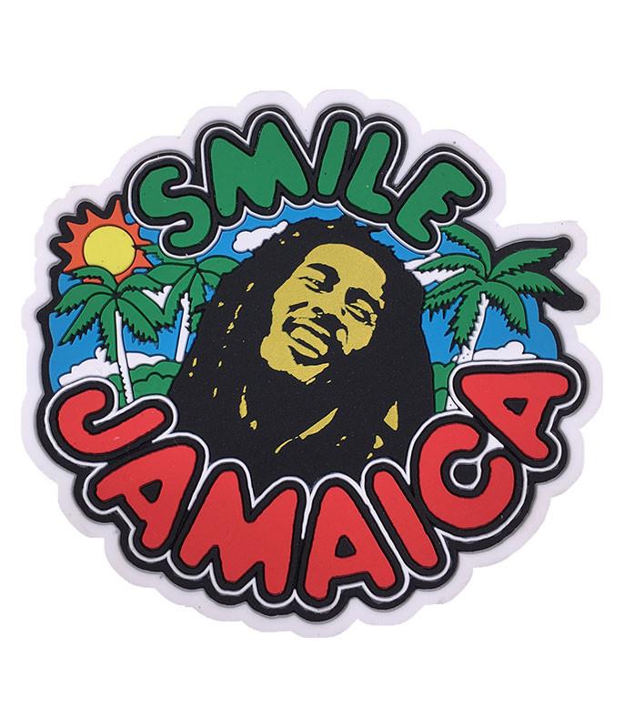 Bob Marley Smile Jamaica Magnet